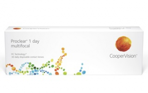 CooperVision ProClear 1-Day Multifocal contact lens